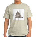 Rhino with an Attitude Ash Grey T-Shirt