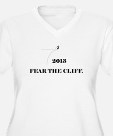 Fiscal Cliff - Fear the Cliff T-Shirt