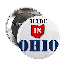 "Made in Ohio 2.25"" Button"