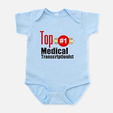 Top Medical Transcriptionist Infant Bodysuit