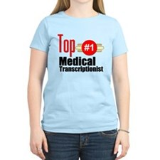 Top Medical Transcriptionist T-Shirt