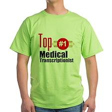 Top Medical Transcriptionist T-Shirt