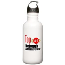 Top Network Administrator Water Bottle
