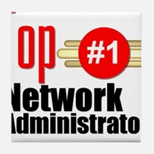 Top Network Administrator Tile Coaster