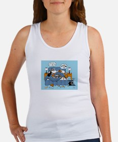 collie CRAZY Women's Tank Top