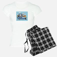 collie CRAZY Pajamas