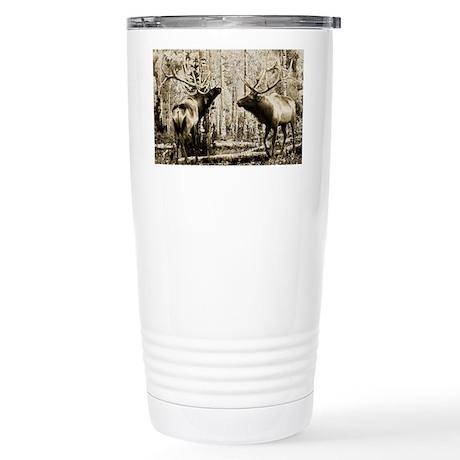 Bull elk Stainless Steel Travel Mug