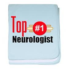 Top Neurologist baby blanket