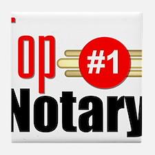 Top Notary Tile Coaster