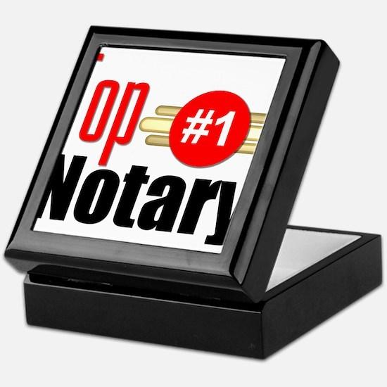 Top Notary Keepsake Box