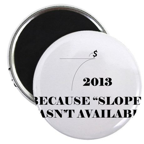 """Fiscal Cliff - Because Slope Wasnt Available 2.25"""""""
