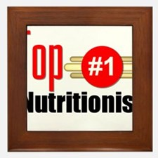 Top Nutritionist Framed Tile