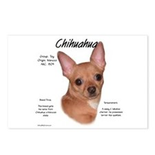 Smooth Chihuahua Postcards (Package of 8)