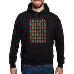 Shar Pei Christmas or Holiday Silhouettes Hoodie (