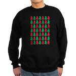Shar Pei Christmas or Holiday Silhouettes Sweatshi