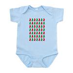 Shar Pei Christmas or Holiday Silhouettes Infant B