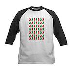 Shar Pei Christmas or Holiday Silhouettes Kids Bas