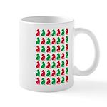 Shar Pei Christmas or Holiday Silhouettes Mug