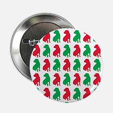 "Shar Pei Christmas or Holiday Silhouettes 2.25"" Bu"