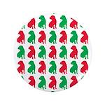 Shar Pei Christmas or Holiday Silhouettes 3.5