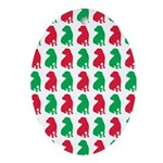 Shar Pei Christmas or Holiday Silhouettes Ornament