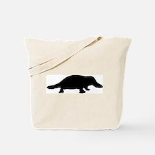 Platypus (Silhouette) Tote Bag