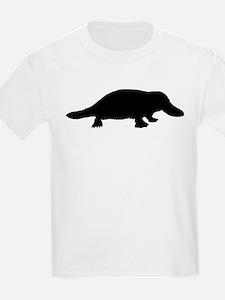 Platypus (Silhouette) Kids T-Shirt
