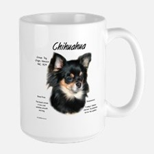 Longhair Chihuahua Large Mug