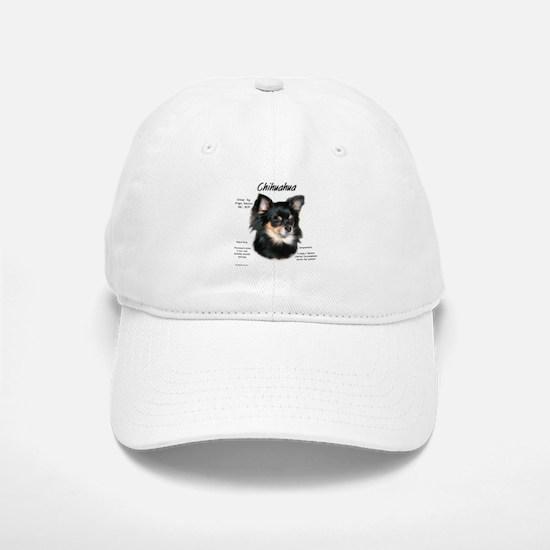 Chihuahua (longhair) Baseball Baseball Cap