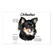 Longhair Chihuahua Postcards (Package of 8)