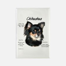 Chihuahua (longhair) Rectangle Magnet