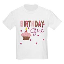 Birthday Girl Girls Tee T-Shirt