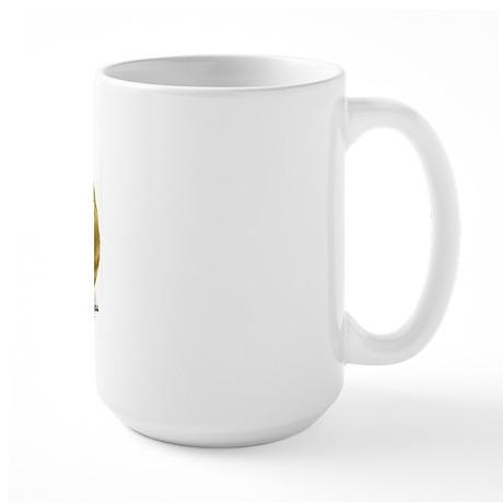No Peanuts For Me Large Mug