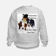Unique Australian shepherds Sweatshirt