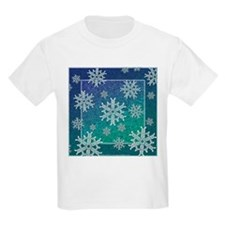 Celtic Knotwork Snowflake Kids T-Shirt