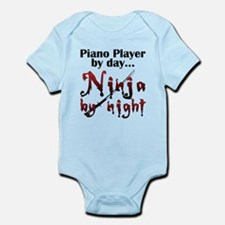 Piano Player Ninja Infant Bodysuit