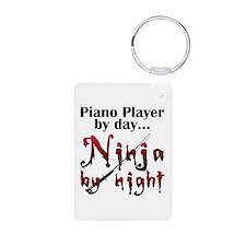 Piano Player Ninja Keychains