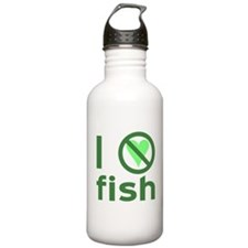 I Hate Fish Water Bottle