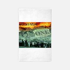 AMERICA'S FUTURE 3'x5' Area Rug