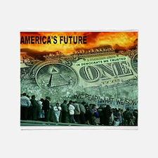 AMERICA'S FUTURE Throw Blanket