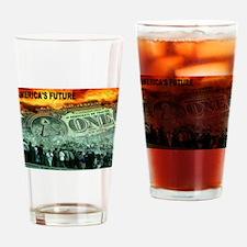 AMERICA'S FUTURE Drinking Glass