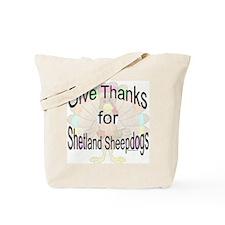Thanks for Sheltie Tote Bag