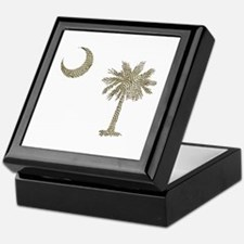 Palmetto & Cresent Moon Keepsake Box