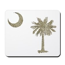Palmetto & Cresent Moon Mousepad