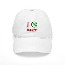 I Hate Tomatoes Baseball Cap