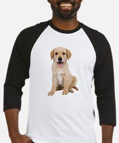 Golden Lab Puppy Baseball Jersey