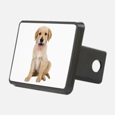 Golden Lab Puppy Hitch Cover