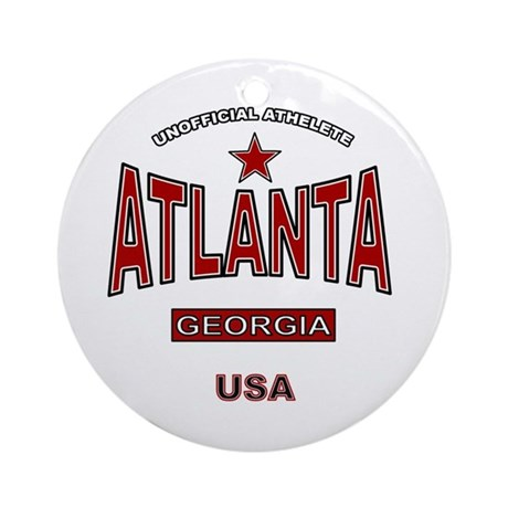 Atlanta Ornament (Round)