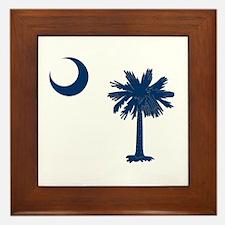 Palmetto & Cresent Moon Framed Tile