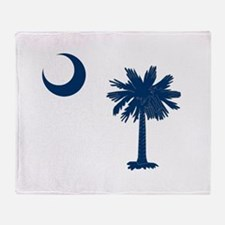 Palmetto & Cresent Moon Throw Blanket